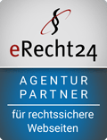 eRecht24 Agentur Partner Siegel