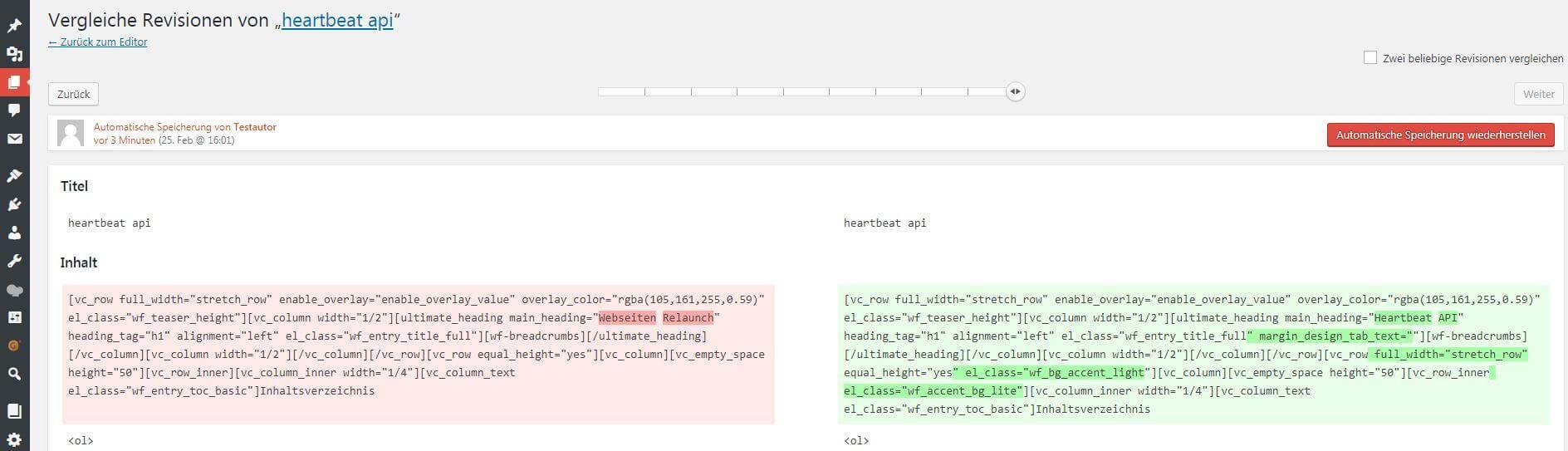 screenshot einer revision, die durch automatische speicherung angelegt wurde